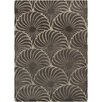 Chandra Rugs Reena Gray Floral Area Rug