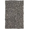 Chandra Rugs Stone Balls Grey Area Rug