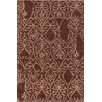 Chandra Rugs INT Chocolate/Mocha Area Rug