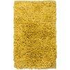 Chandra Rugs Paper Shag Yellow Area Rug (Set of 2)