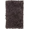 Chandra Rugs Paper Shag Dark Grey Area Rug