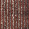 Chandra Rugs Citizen Textured Contemporary Flatweave Rust Area Rug