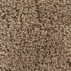 Chandra Rugs Bella Textured Contemporary Shag Brown Area Rug