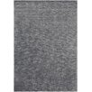 Chandra Rugs Opel Textured Solid Charcoal Area Rug