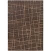 Chandra Rugs Oslo Patterned Contemporary Brown Area Rug