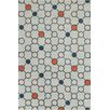Chandra Rugs Stella Patterned Contemporary Wool Gray Area Rug