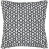 Chandra Rugs Geometric Contemporary Throw Pillow