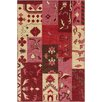 Chandra Rugs Fusion Patterned Contemporary Pink/Red Area Rug