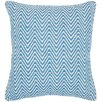 Chandra Rugs Chevron Contemporary Cotton Throw Pillow