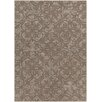 Chandra Rugs Rekha Patterned Tranditional Brown Area Rug