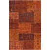 Chandra Rugs Fusion Patterned Contemporary Orange Area Rug