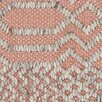 Chandra Rugs Salona Patterned Contemporary Pink/Natural Area Rug