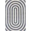 Chandra Rugs Thomaspaul Patterned Designer Gray/Cream Area Rug