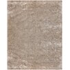 Chandra Rugs Mercury Textured Contemporary Beige Area Rug