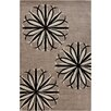 Chandra Rugs Stella Patterned Contemporary Wool Taupe Area Rug