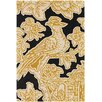 Chandra Rugs Thomaspaul Patterned Designer Yellow Area Rug
