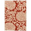 Chandra Rugs Thomaspaul Patterned Red/Cream Indoor/Outdoor Area Rug