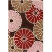 Chandra Rugs Thomaspaul Patterned Designer Brown Area Rug