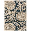 Chandra Rugs Thomaspaul Patterned Blue/Cream Indoor/Outdoor Area Rug
