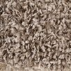 Chandra Rugs Bolero Textured Contemporary Shag Taupe Area Rug