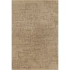 Chandra Rugs Stella Patterned Contemporary Wool Tan Area Rug