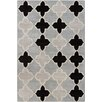 Chandra Rugs Allie Hand Tufted Wool Gray Area Rug