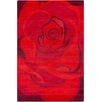 Chandra Rugs Allie Hand Tufted Wool Red/Burgundy Area Rug
