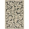 Chandra Rugs Metro Hand Tufted Rectangle Contemporary Ivory/Black Area Rug
