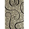 Chandra Rugs Allie Hand Tufted Wool Beige/Black Area Rug