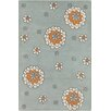 Chandra Rugs Allie Hand Tufted Wool Cream/Gray Area Rug
