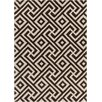 Chandra Rugs Davin Hand Tufted Rectangle Contemporary Brown/Cream Area Rug