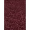 Chandra Rugs Jaipur Hand Tufted Rectangle Transitional Burgundy Area Rug