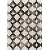 Chandra Rugs Elvo Hand-Tufted Brown/White Area Rug