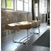 Modloft Carey Leather Bedroom Bench
