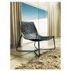 Modloft York Leather Lounge Chair