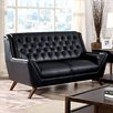 Hokku Designs Daine Modern Tufted Loveseat