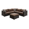 Hokku Designs Grasse 6 Piece Seating Group with Cushions
