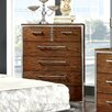 Hokku Designs Bilsen 5 Drawer Chest