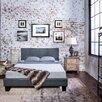Hokku Designs Maxwell Upholstered Platform Bed