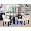 Hokku Designs Luminate 7 Piece LED Dining Set