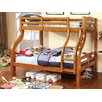 Hokku Designs Woodcliff Twin over Full Bunk Bed