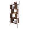 """Hokku Designs Mateo 71"""" Leaning Bookcase"""