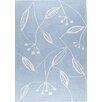 Hokku Designs Blossom Blue Area Rug