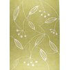 Hokku Designs Blossom Green Area Rug