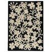 Hokku Designs Marigold Charcoal/White Area Rug