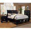 Hokku Designs Olivia Upholstered Storage Platform Bed
