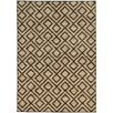 Hokku Designs Jensen Geometric Beige/Brown Area Rug