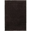 Hokku Designs Pizazz Solid Brown Area Rug
