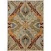 Hokku Designs Agave Overscale Traditional Beige/Orange Area Rug