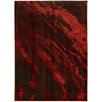 Hokku Designs Agave Marble Red/Grey Area Rug